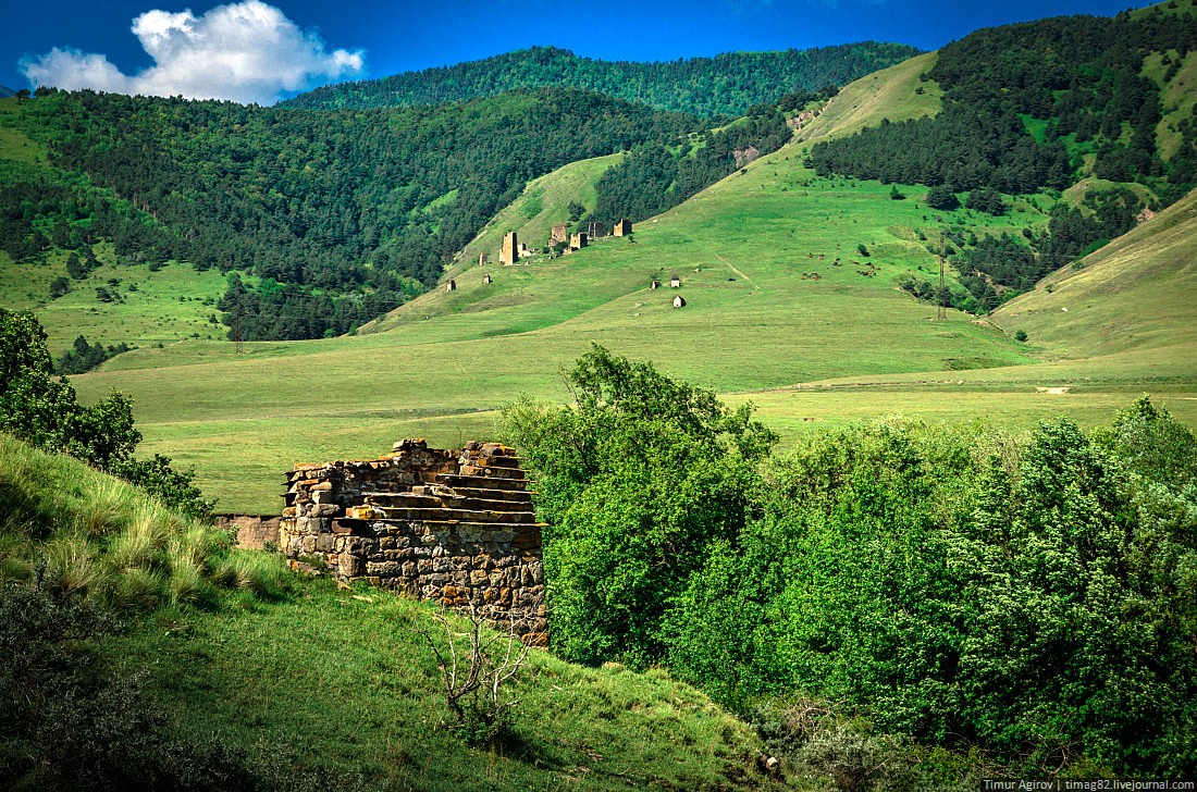 the beautiful scenery of the mountain ingushetia 183 russia
