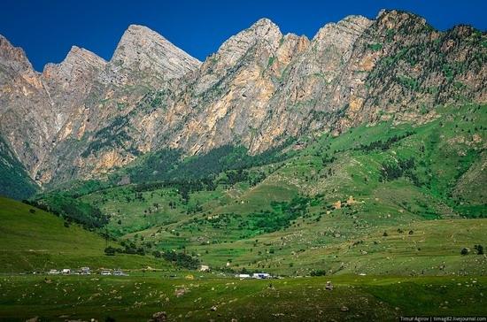 The beautiful scenery of the mountain Ingushetia, Russia photo 6