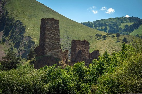 The beautiful scenery of the mountain Ingushetia, Russia photo 9