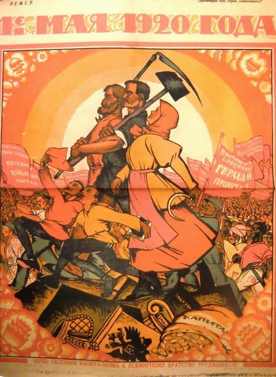 May 1 - Soviet propaganda poster 2