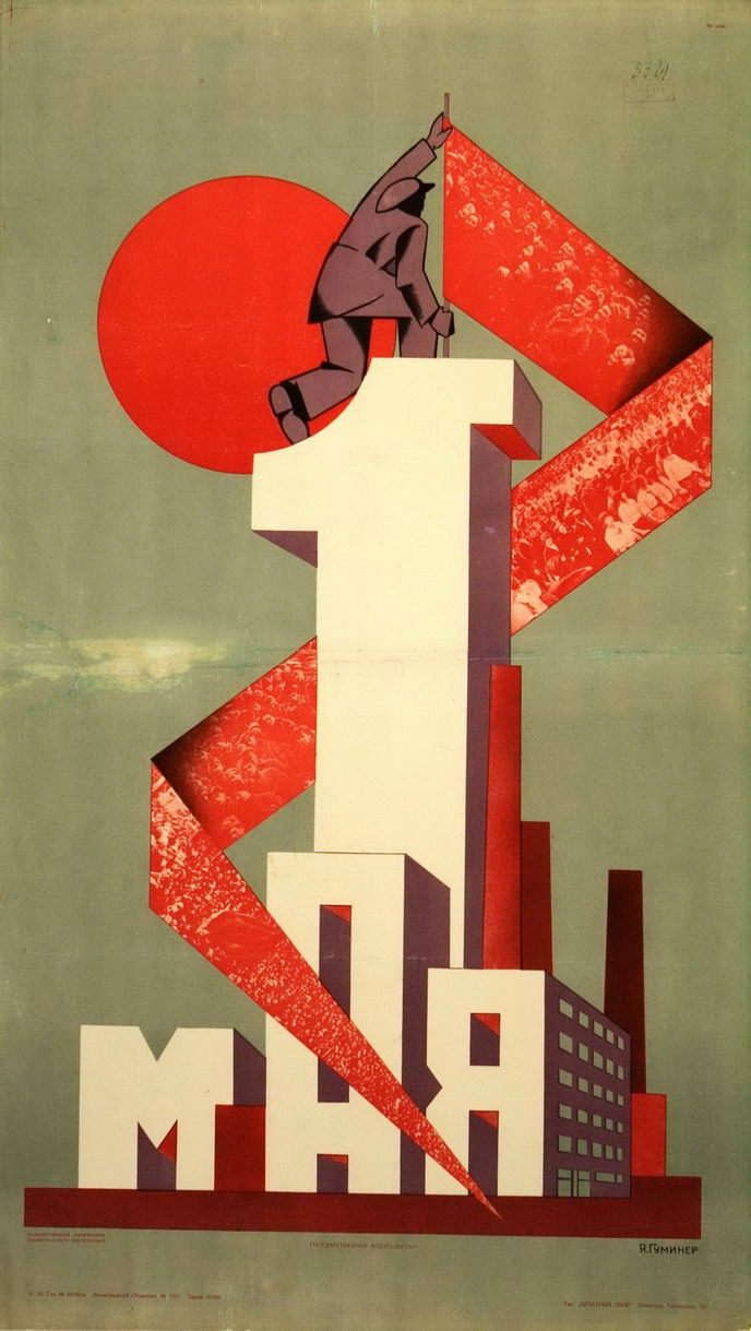 Art Design International : Soviet propaganda of may international workers day