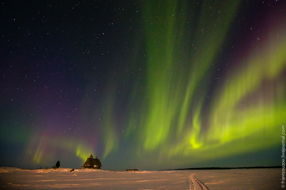 Northern Lights In The Sky Over Karelia 183 Russia Travel Blog