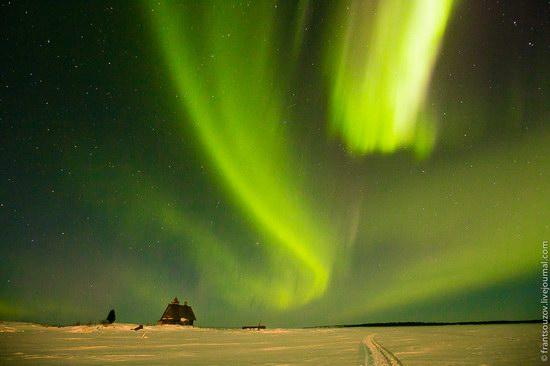 Northern Lights (Aurora Borealis) in the sky over Karelia, Russia photo 15