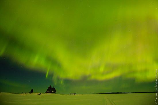 Northern Lights (Aurora Borealis) in the sky over Karelia, Russia photo 19