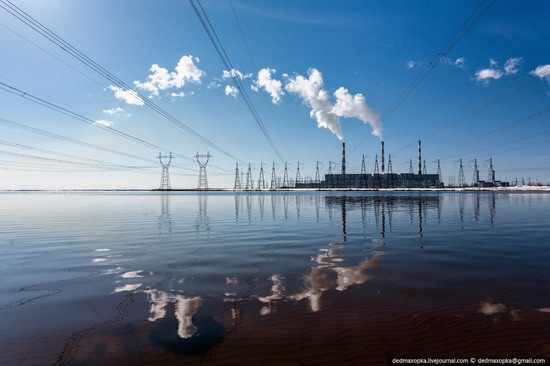 Surgut thermoelectric power station, Russia photo 1