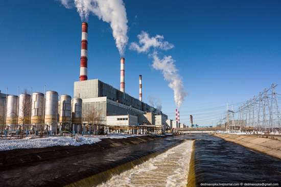 Surgut thermoelectric power station, Russia photo 3