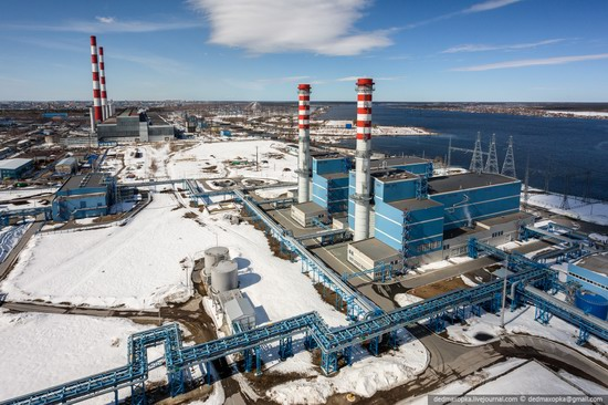 Surgut thermoelectric power station, Russia photo 4
