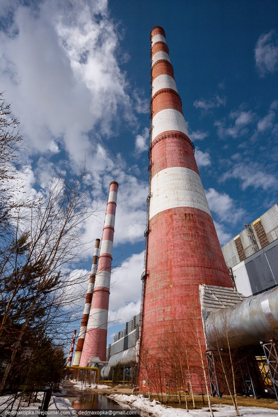 Surgut thermoelectric power station, Russia photo 6