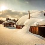 The magic of Russian winter