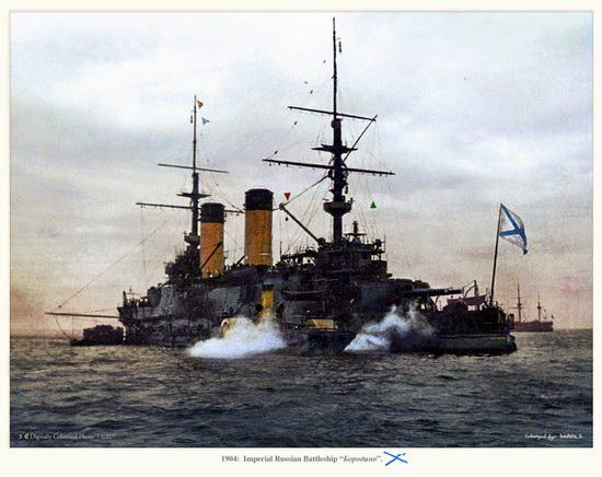 The Russian Imperial Fleet battleship photo 10