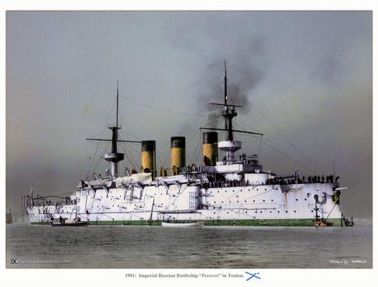 The Russian Imperial Fleet battleship photo 11
