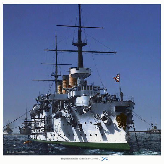 The Russian Imperial Fleet battleship photo 12