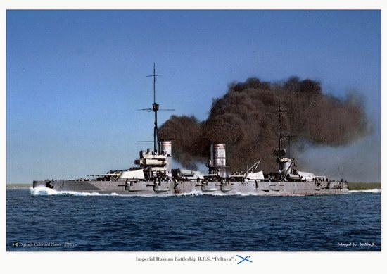 The Russian Imperial Fleet battleship photo 17