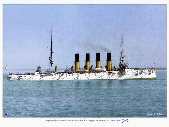 The Russian Imperial Fleet battleship photo 5