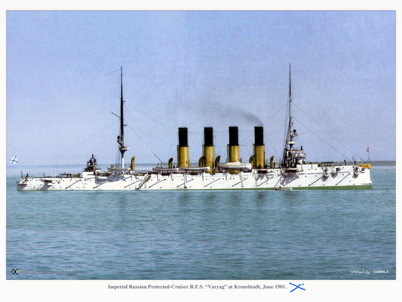 Pre War Architecture Colorized Photos Of The Russian Imperial Fleet 183 Russia