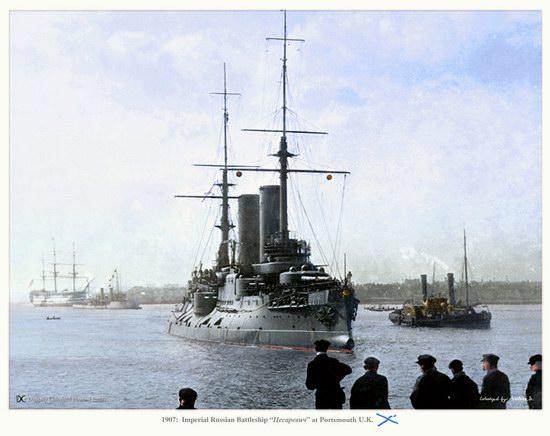 The Russian Imperial Fleet battleship photo 7