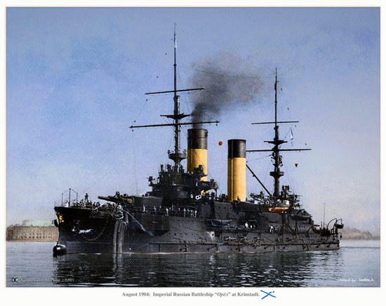The Russian Imperial Fleet battleship photo 9