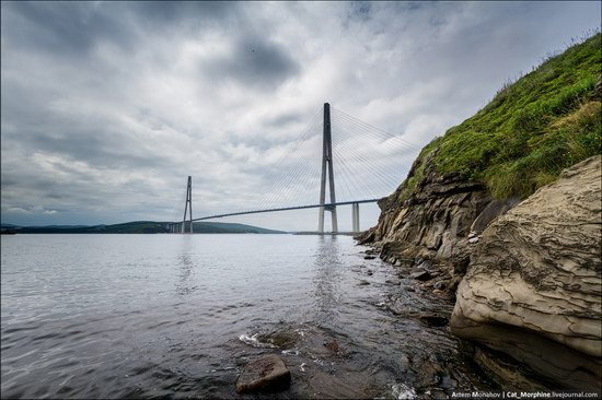 The Russky Bridge, Vladivostok, Russia photo 1