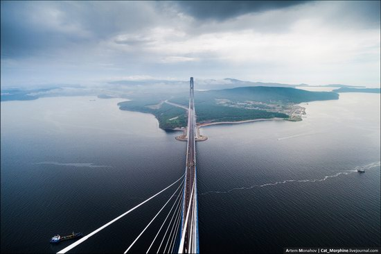 The Russky Bridge, Vladivostok, Russia photo 4