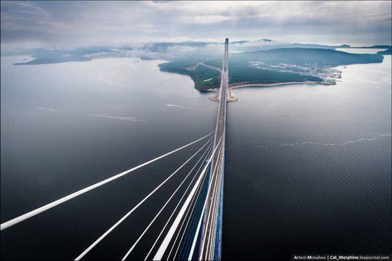 The Russky Bridge, Vladivostok, Russia photo 5