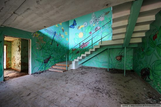 Abandoned Summer Camp with Retro Cars, Moscow region, Russia photo 10