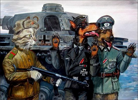 """Epical Cats"" of Painter Alexander Zavaly picture 10"