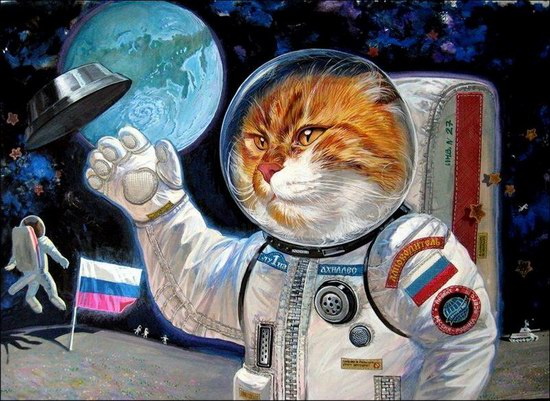 """Epical Cats"" of Painter Alexander Zavaly picture 11"