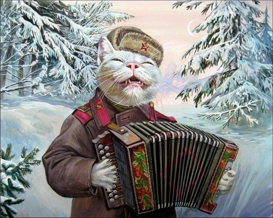 """Epical Cats"" of Painter Alexander Zavaly picture 12"