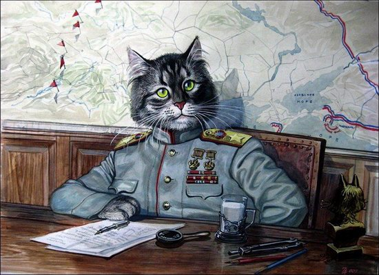 """Epical Cats"" of Painter Alexander Zavaly picture 13"