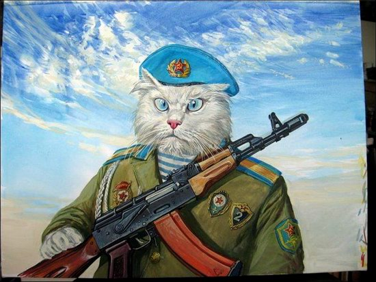 """Epical Cats"" of Painter Alexander Zavaly picture 14"