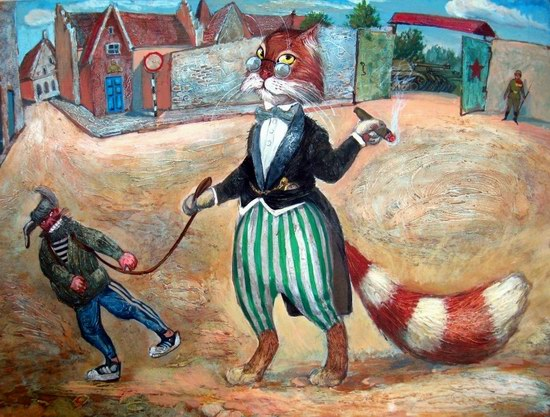 """Epical Cats"" of Painter Alexander Zavaly picture 15"