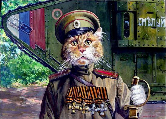 """Epical Cats"" of Painter Alexander Zavaly picture 2"