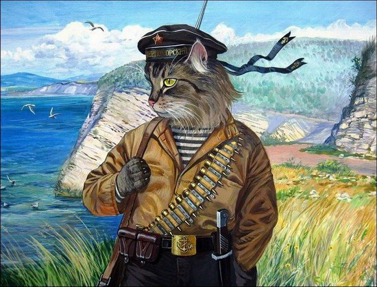 """Epical Cats"" of Painter Alexander Zavaly picture 6"