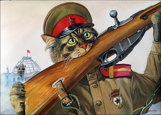 """Epical Cats"" of Painter Alexander Zavaly picture 7"