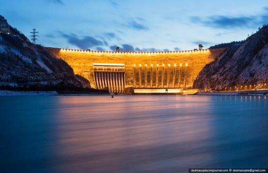 Sayano-Shushenskaya Hydropower Plant, Russia photo 1