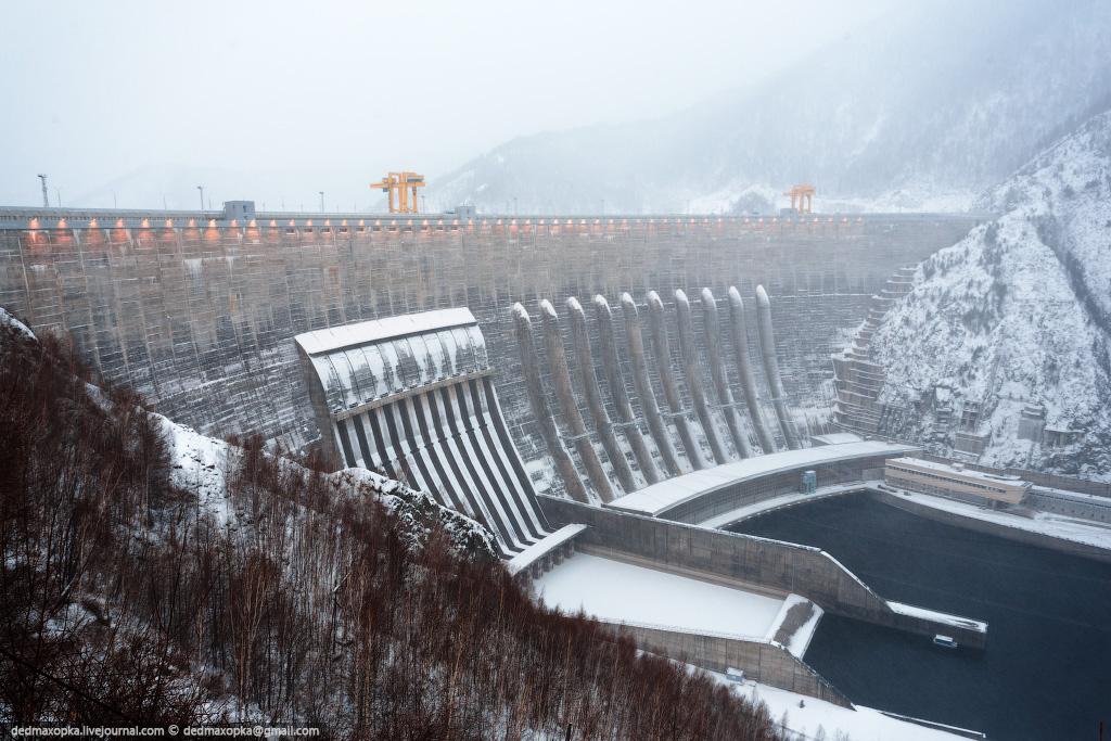 Sayano–Shushenskaya Dam
