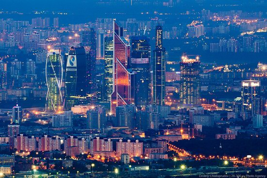 Moscow from Ostankino TV tower top, Russia photo 10