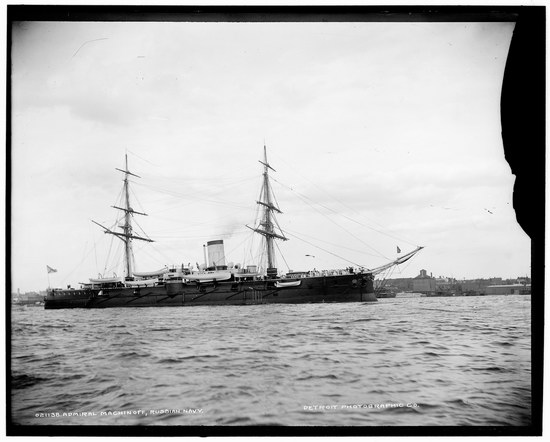 The Russian Empire warships in 1893, photo 2