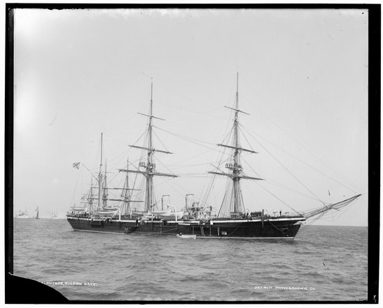 The Russian Empire warships in 1893, photo 24
