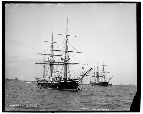 The Russian Empire warships in 1893, photo 25