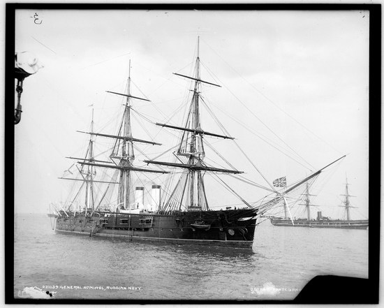 The Russian Empire warships in 1893, photo 4