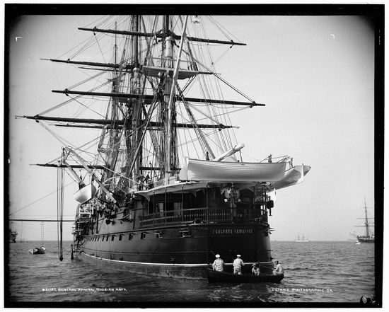 The Russian Empire warships in 1893, photo 5