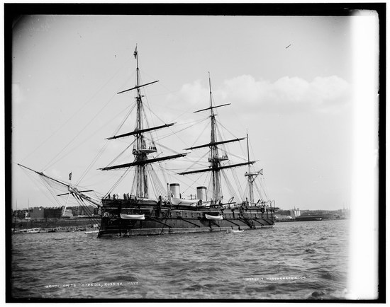The Russian Empire warships in 1893, photo 8