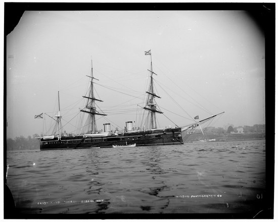The Russian Empire warships in 1893, photo 9