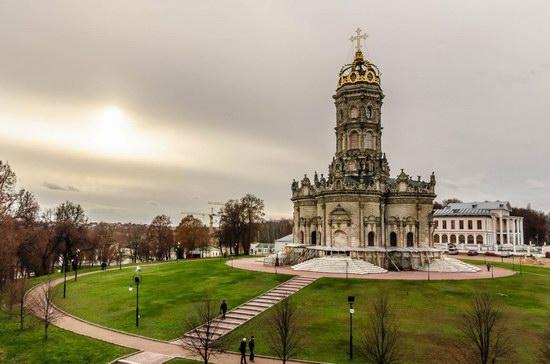 Unique Baroque Church in the Dubrovitsy Estate, Podolsk, Russia photo 1