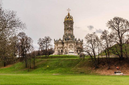 Unique Baroque Church in the Dubrovitsy Estate, Podolsk, Russia photo 11