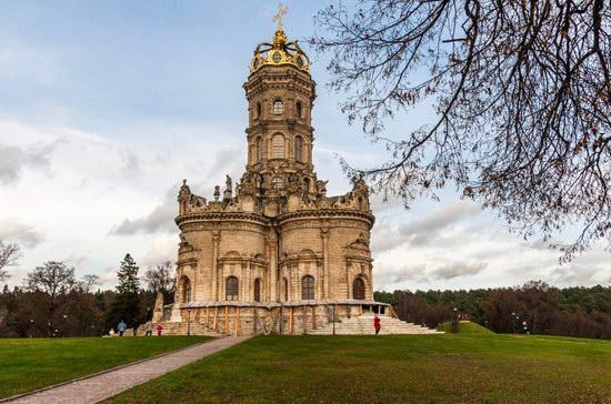 Unique Baroque Church in the Dubrovitsy Estate, Podolsk, Russia photo 12