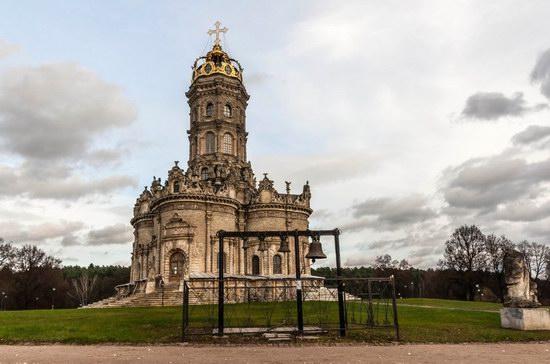 Unique Baroque Church in the Dubrovitsy Estate, Podolsk, Russia photo 9