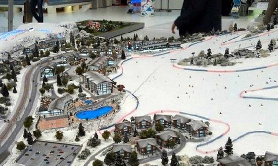 Lagonaki Ski Resort Layout, Russia photo 1