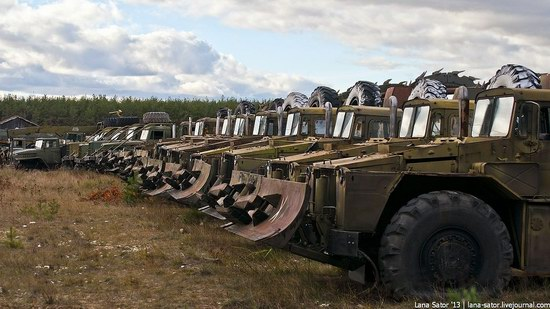 Decommissioned Equipment of Russian Engineering Troops, photo 2